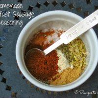 Homemade Breakfast Sausage Seasoning