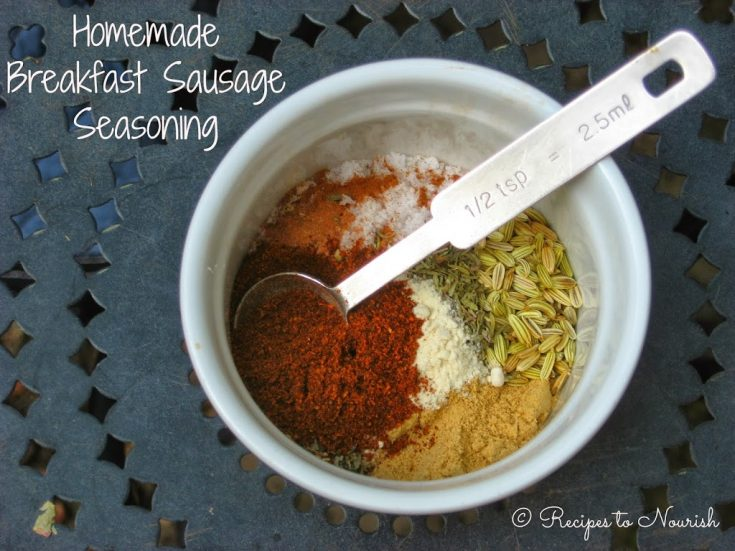 Homemade Breakfast Sausage Seasoning