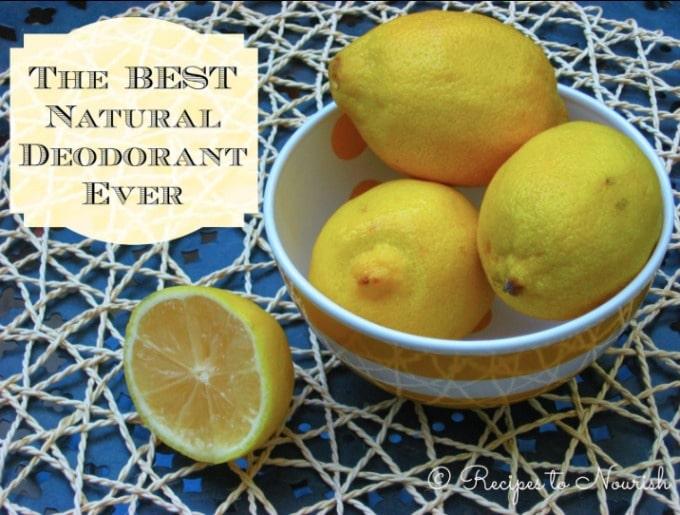 The Best Natural Deodorant Ever | Recipes to Nourish