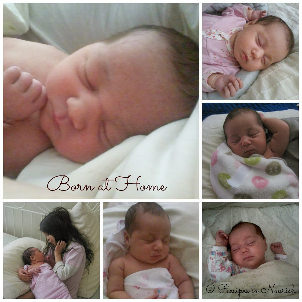 Tiny Love's Birth Story ... my second baby and my amazing water home birth experience with my beloved midwives in attendance.   Recipes to Nourish