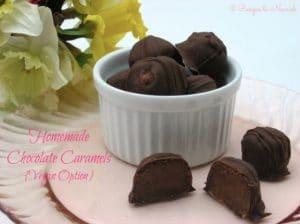 Homemade Chocolate Caramels | Recipes to Nourish