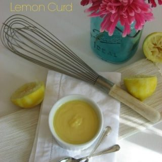 Honey Sweetened Lemon Curd
