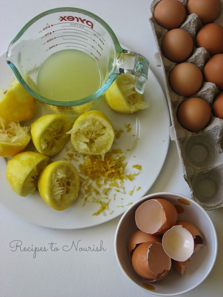 Honey Sweetened Lemon Curd - Recipes to Nourish