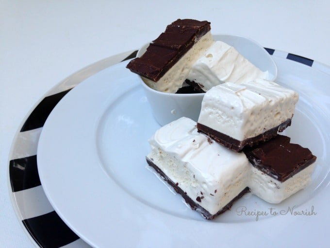 Homemade Candy Bars with Caramel and