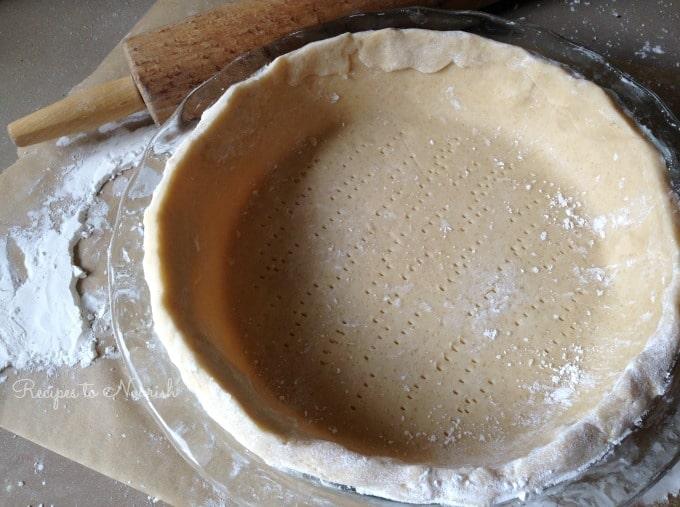 Chocolate Meringue Pie Crust   Recipes to Nourish