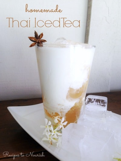 Thai Iced Tea | Recipes to Nourish