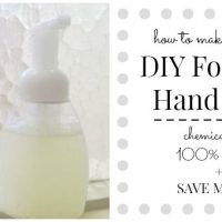 Money Saving DIY Foaming Hand Soap