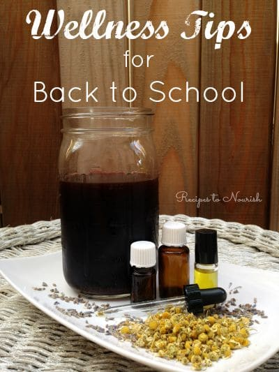 Wellness Tips for Back to School | Recipes to Nourish