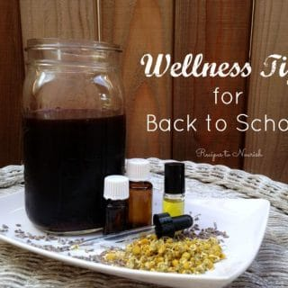 School Season Natural Wellness Tips