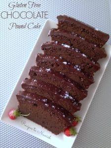 Gluten Free Chocolate Pound Cake | Recipes to Nourish