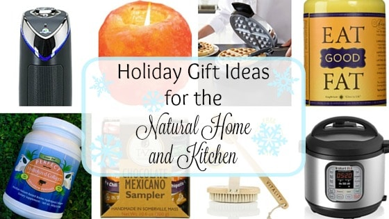 Holiday Gift Ideas for the Natural Home and Kitchen - for Real Foodies and those who are into natural living … a little something for everyone. | Recipes to Nourish