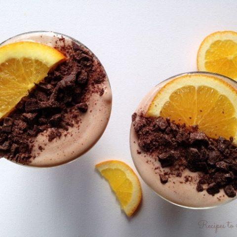 Healthy Chocolate Orange Smoothie