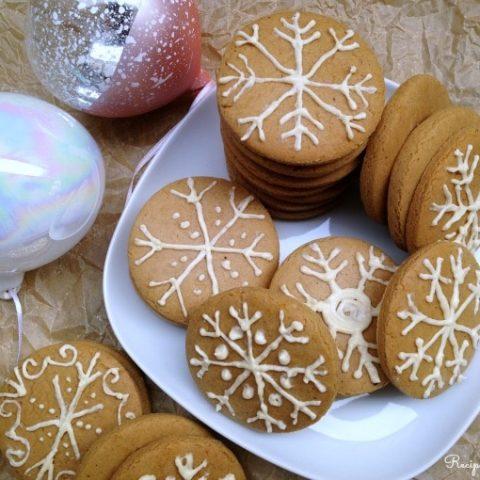 Gluten Free Honey Gingerbread Cookies