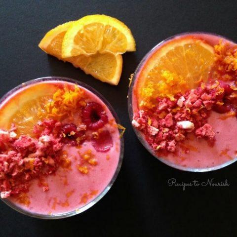 Nutrient Dense Raspberry Smoothie + Over 50 Smoothie Recipes