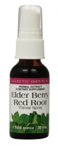 Elder Berry Red Root Throat Spray