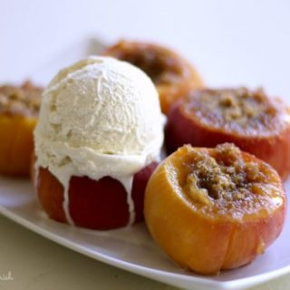 How to Make Instant Pot Stuffed Peaches