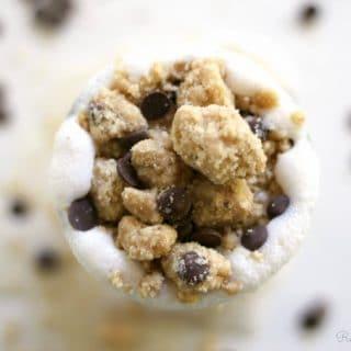 Grain Free Chocolate Chip Cookie Dough Milkshake