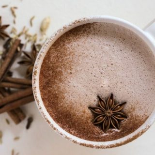 Real Food Chai Hot Chocolate {Nourishing}