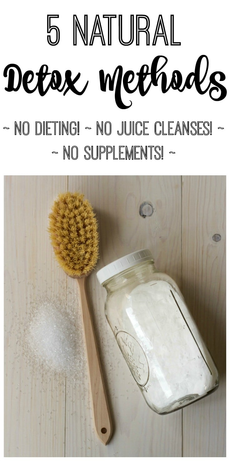 Natural Detox Methods can be so easy! Are you ready to start taking better care of you? Today is a great day to start! Try these simple detox methods for better self care. No diet,juicing or supplements required!| Recipes to Nourish | Natural living | natural detox | healthy living | detox methods | clean living | self-care || #selfcare #naturalremedies #detoxmethods
