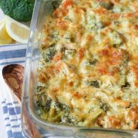 Healthy Chicken Broccoli Casserole