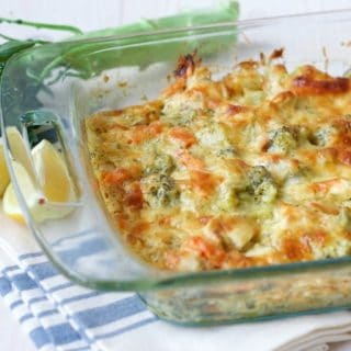 Healthy Chicken Broccoli Casserole {Grain Free}