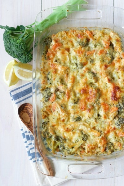 Healthy Chicken Broccoli Casserole  Recipes To Nourish-6938