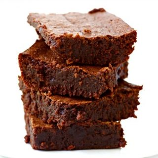 Fudgy Grain Free Brownies {Paleo + Nut Free}
