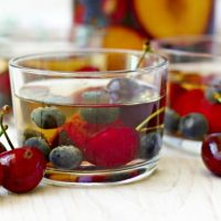 Non Alcoholic Herbal Summer Sangria
