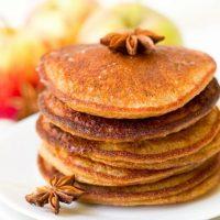 Gluten Free Pumpkin Pancakes + Ginger Honey Butter