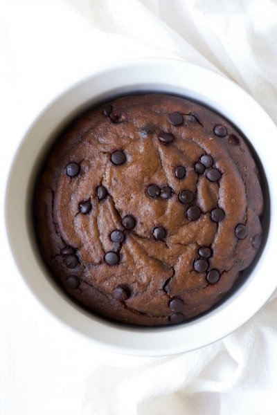 Instant Pot Paleo Chocolate Chip Banana Bread is so easy to make! This classic, healthier, protein-rich breakfast or snacking bread has the best soft texture, it's packed with banana flavor, lots of chocolaty goodness, and madewith no refined sugar. | Recipes to Nourish