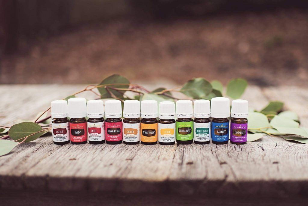 Young Living premium starter kit essential oils