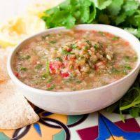 Fresh Real Food Summer Blender Cucumber Salsa