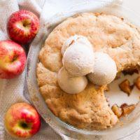 Seasonal Grain Free Apple Cobbler