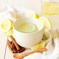 Hot Garlic Ginger Lemonade