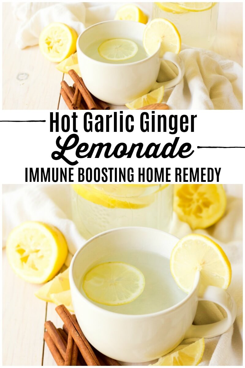 Ginger lemonade as a remedy for many ailments
