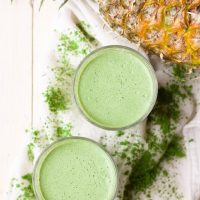 Matcha Moringa Superfood Smoothie