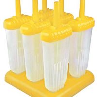 Tovolo BPA-Free Groovy Pop Molds, Drip-Guard Handle, 4 Ounces, Set of 6